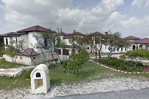 The Helotes estate owned by former state Sen. Carlos Uresti and his wife, Lleanna, had been posted for the Feb. 5 foreclosure auction. The auction for the property, at 15530 Spur Clip, was canceled.