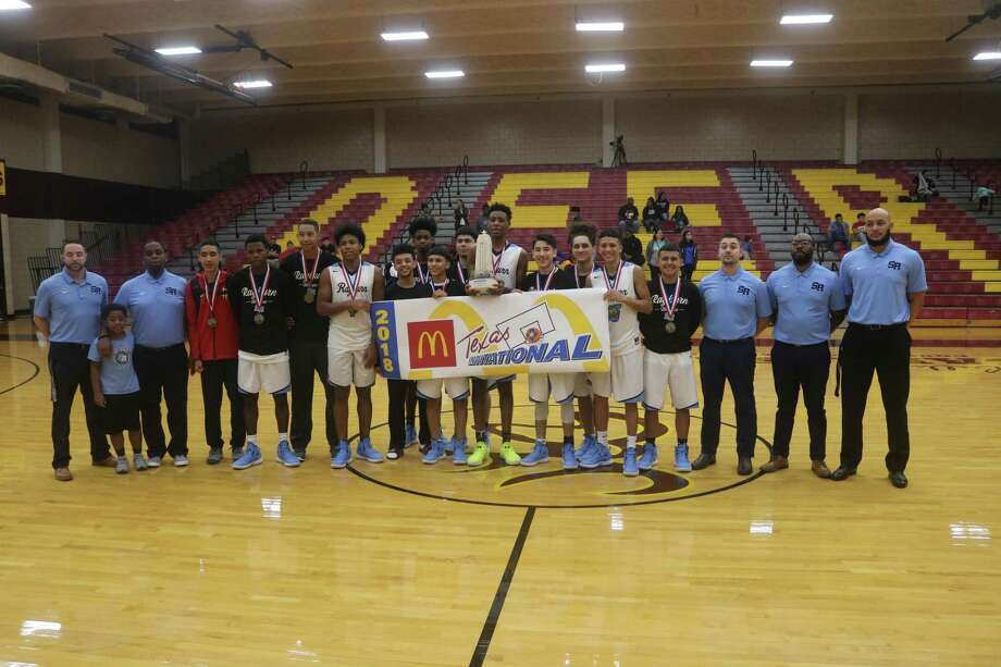 Teams, like the Sam Rayburn boys basketball team, not only got to win a trophy from November's McDonald's Texas Invitational, they also enjoyed everything that came with it according to the responses to the evaluation questions. Photo: Robert Avery