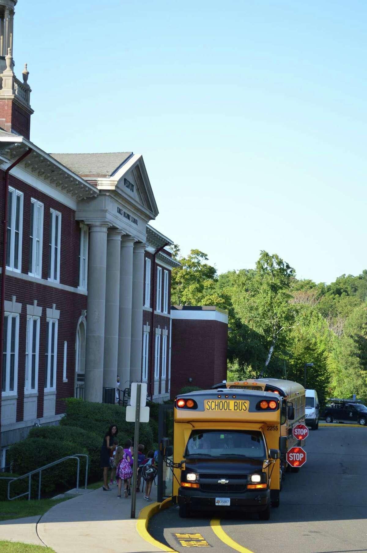 Kings Highway Elementary School in Westport.