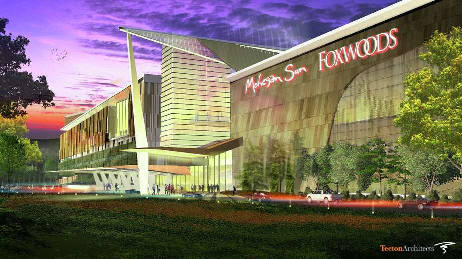 An artist's rendering of a proposed Foxwoods and Mohegan Sun casino to be built in East Windsor, Connecticut. Photo: Contributed Photo / Connecticut Post Contributed