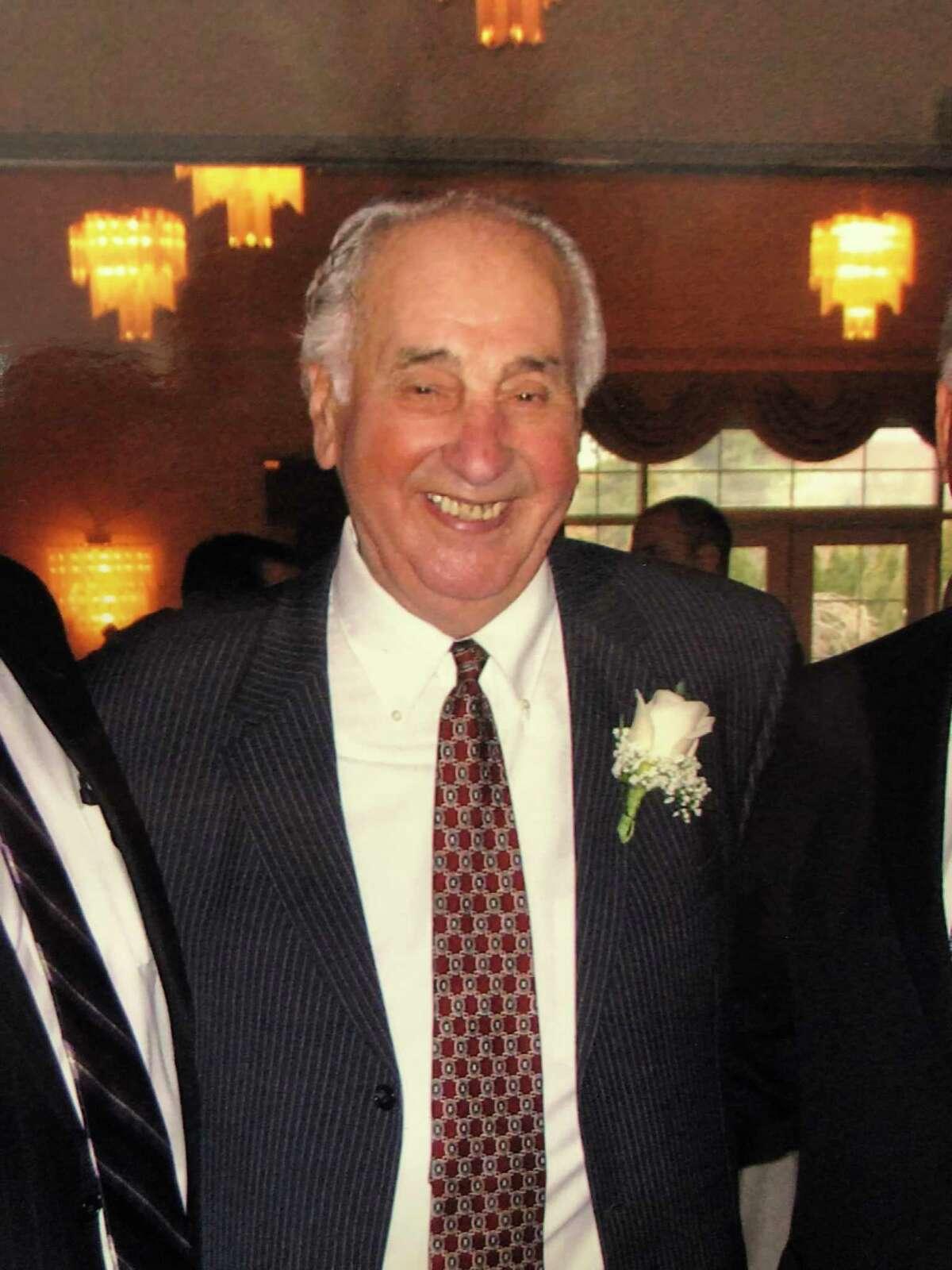Bill Bernardo. The legendary Albany bail bondsman has died at 91.(Courtesy Bernardo family)