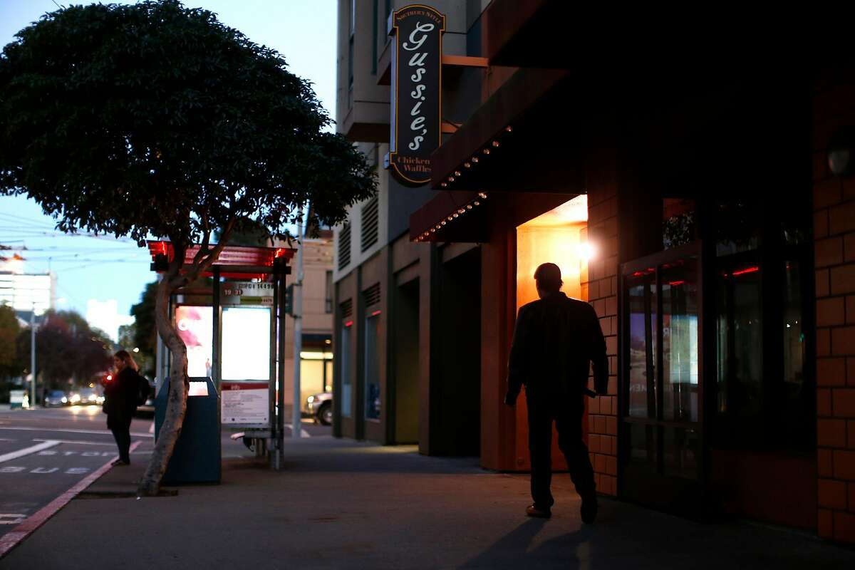 Now closed Gussie's House of Chicken and Waffles on Eddy Street in San Francisco., Calif., on Wednesday, November 25, 2015.