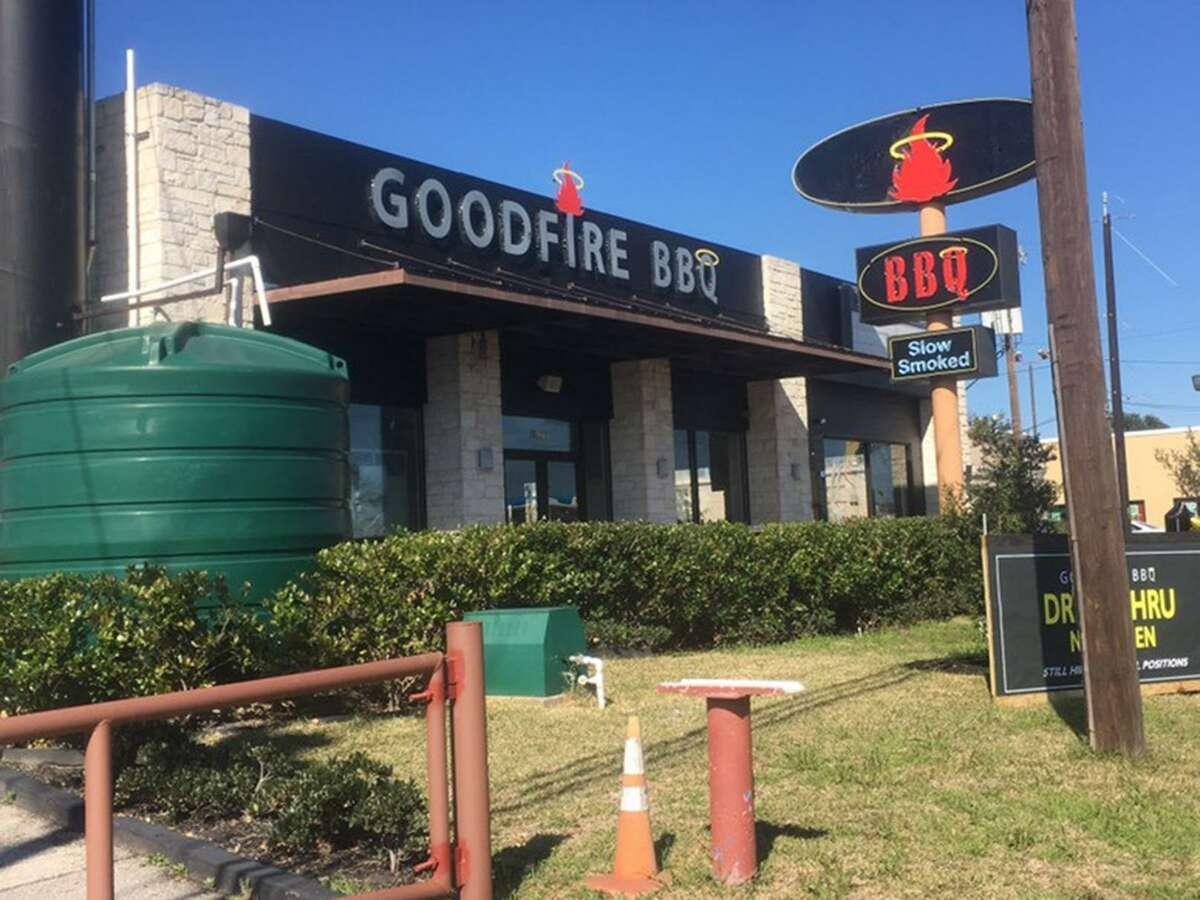 Goodfire BBQ is located at 8629 Perrin Beitel Road, just outside Loop 410.