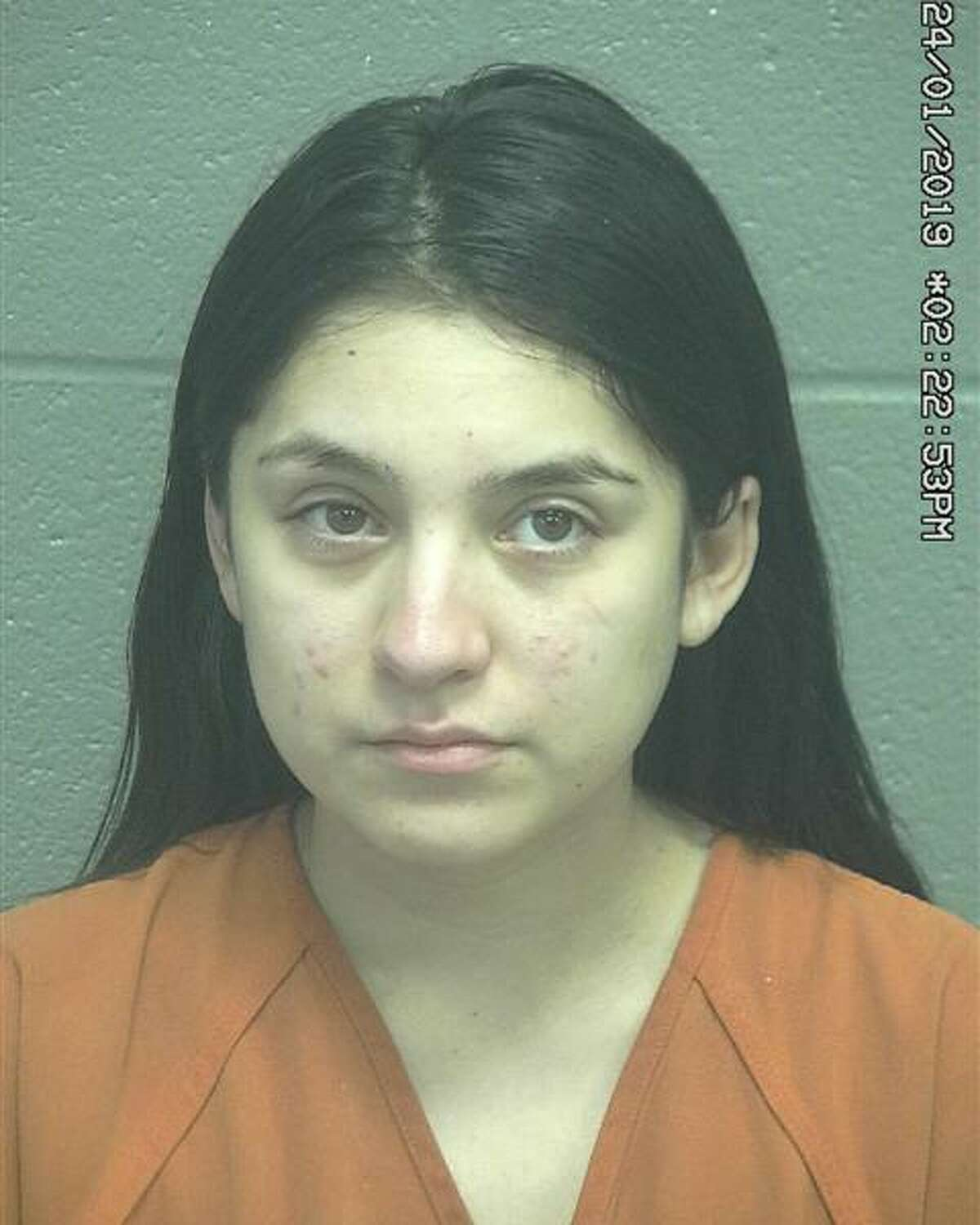 Megan Olivas, 22, Fort Stockton was arrested after an officer operating an undercover Facebook account messaged Garcia about purchasing dab cartridges and promethazine.