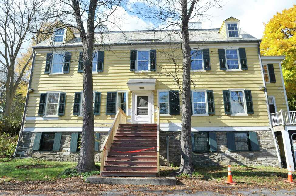 A view of the Historic Cherry Hill home, seen here on Thursday, Oct. 30, 2014, in Albany, N.Y. (Paul Buckowski / Times Union)
