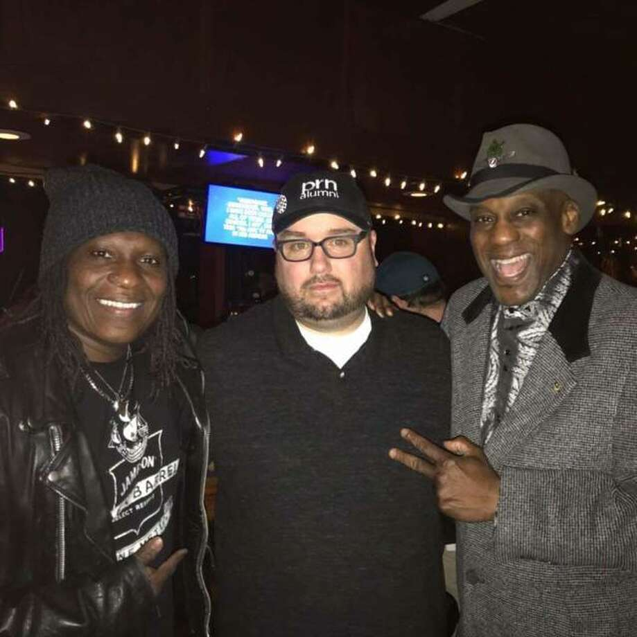 Minneapolis music artist Tracey Blake, Master Class Host Chris Arnel and Jellybean Johnson, formerly of The Time. Photo: For The Edge