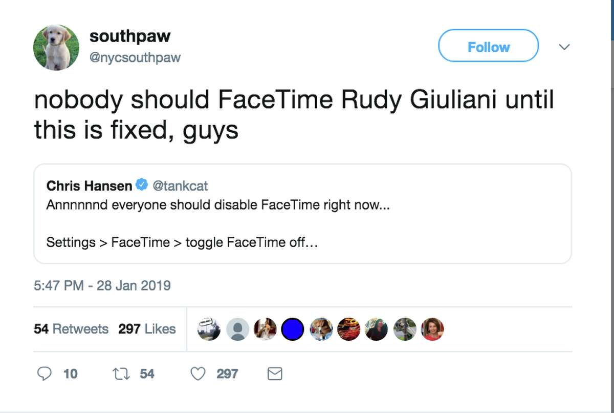 Twitter users were not happy with Apple's Facetime bug.