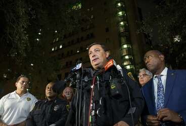 HPD Chief Acevedo says narcotics cop committed likely crime