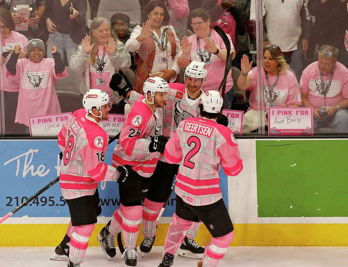 Pink in the Rink: The ice again will be dyed pink as the San Antonio Rampage battle the Texas Stars wearing pink jerseys with patches bearing the names of breast cancer survivors or those battling the disease. The 10th edition of the charity game also will feature $1 pink beers and sodas, and pink margaritas will be sold in Section 200. 7 p.m. Friday, AT&T Center, 1 AT&T Center Parkway, $10-$65 at ticketmaster depends on seating choice, 210-444-5140, sarampage.com - Ingrid Wilgen