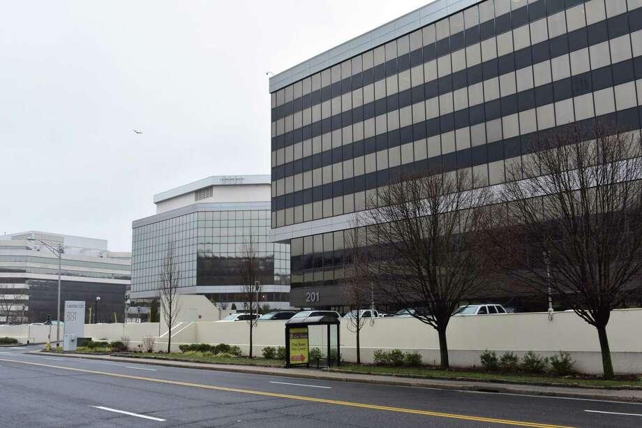 Xerox headquarters at 201 Merritt 7 in Norwalk, Conn. Photo: Alexander Soule / Hearst Connecticut Media / Stamford Advocate