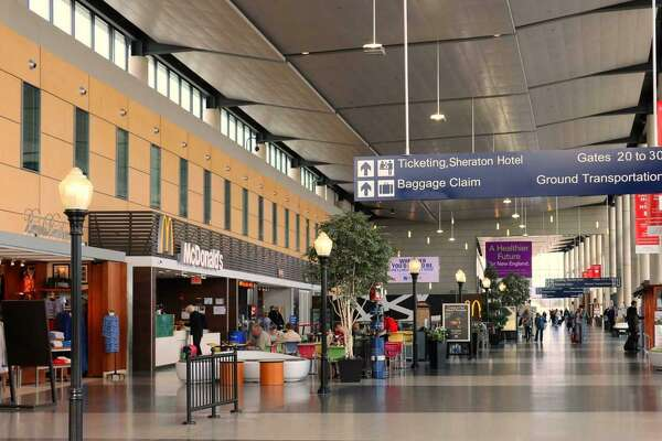 Bradley International Airport leaders have announced their 2019 goals, which include considering changing the airport's name and expanding service.