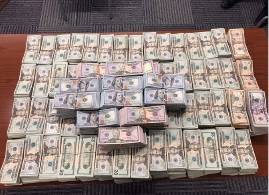 CBP said Monday that it seized almost $1 million that was found hidden in a vehicle during an inspection at the Juarez-Lincoln International Bridge. Photo: Courtesy