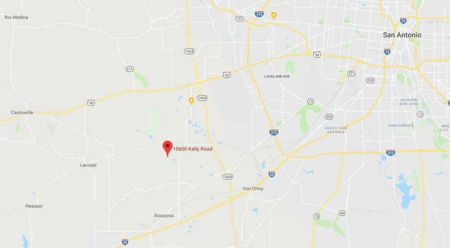 Chano Roman, who used a wheelchair, was caught in the fire at his home in the 10600 block of Kelly Road in Atascosa, Texas, just before 6 a.m. on Monday, Jan. 28, 2019. Photo: Google Maps