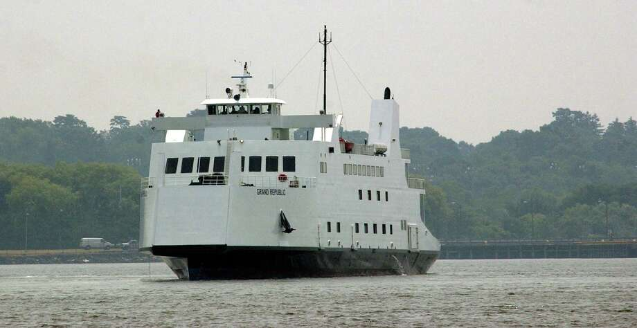 One of the Bridgeport-Port Jefferson Steamboat Co.'s ferries. Photo: File Photo