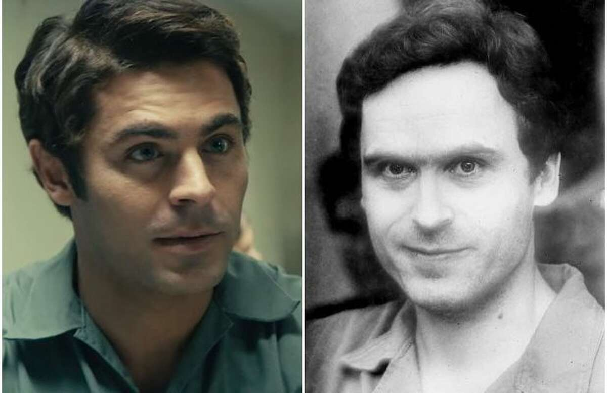 """Zac Efron depicts serial killer Ted Bundy in """"Extremely Wicked, Shockingly Evil and Vile."""" Bundy is said to have been deceitfully charming, a notion the trailer seizes upon with abandon. Guitar riffs and splashy editing depict him as some sort of action hero, such that when Efron winks at the camera, it's unclear whether his Bundy is meant to dazzle or disarm."""