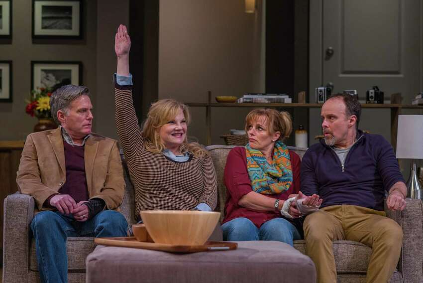 From left, James Lloyd Reynolds, Elizabeth Meadows Rouse, Yvonne Perry and Oliver Wadsworth in the world premiere of