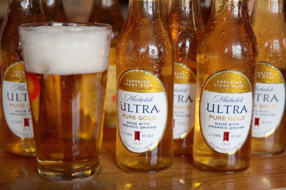 Organic beer? This 95 calorie organic option will make its Super Bowl debut this weekend. Photo: Getty Images