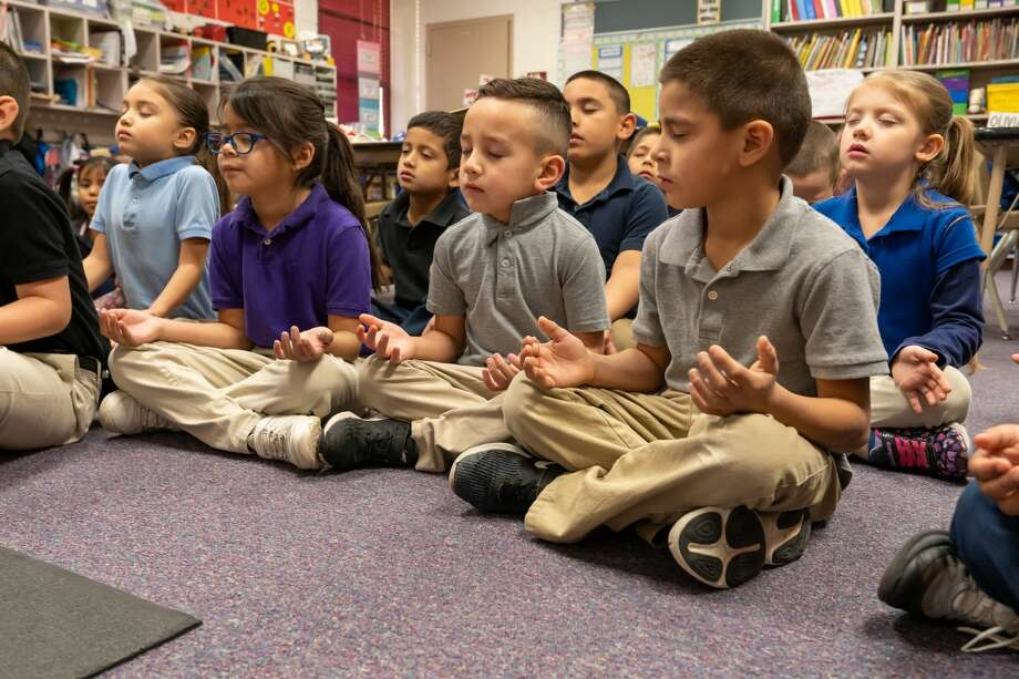 Travis Elementary was the first Midland ISD school to incorporate the Mindfulness Program, which involves relaxation techniques.  Photo: Courtesy Photo