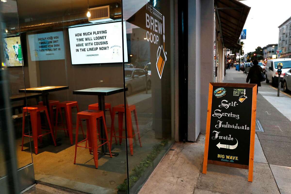 The Brew Coop on Valencia Street in San Francisco, Calif., on Monday, January 28, 2019.