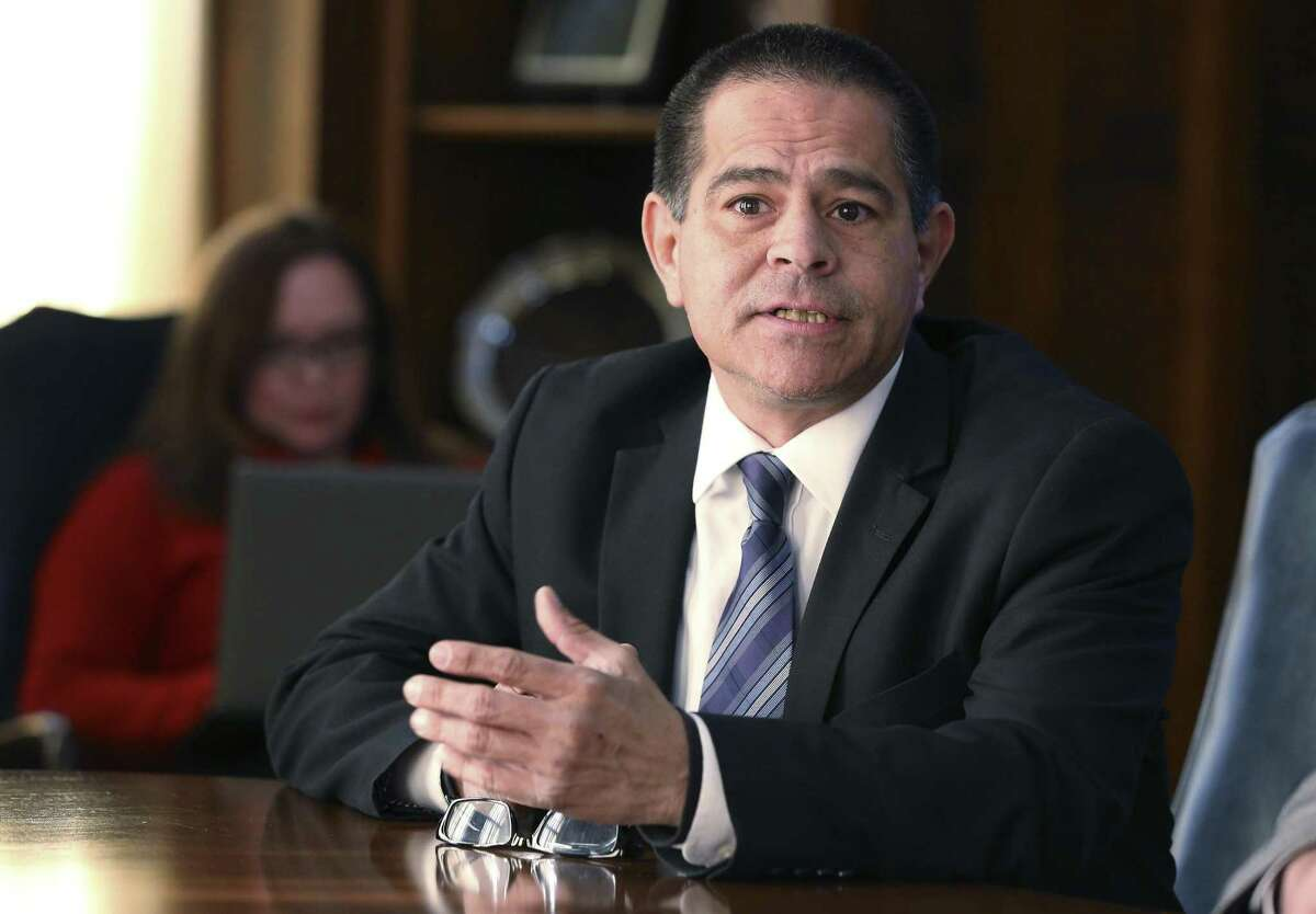 Community organizer Steve Huerta is one of five candidates vying to become San Antonio's newest state representative.
