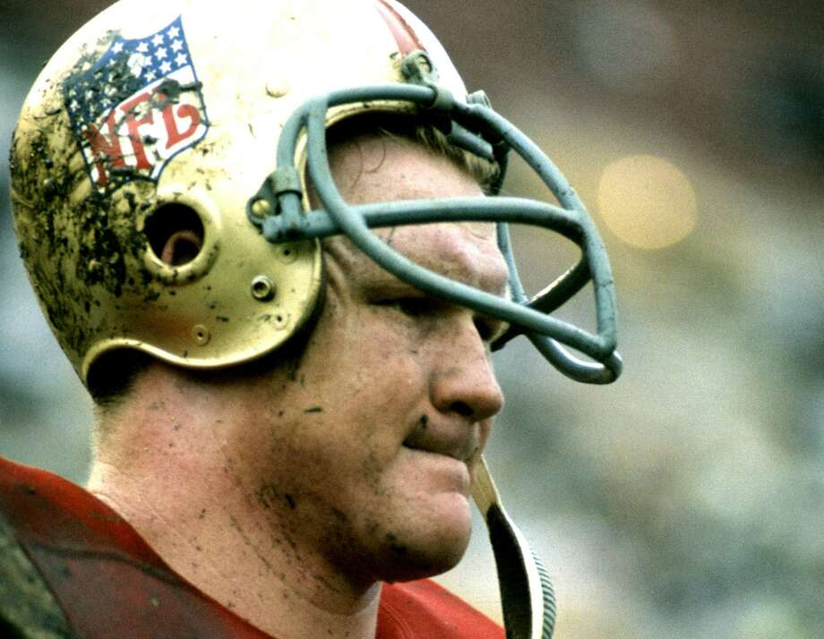 Researchers have confirmed what Tommy Nobis' family long suspected: He had the most severe form of chronic traumatic encephalopathy, the degenerative brain disease linked to repetitive blows to the head that can cause the kind of violent moods they had grown accustomed to. Photo: NFL / / AP2009