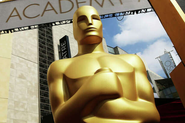 In this Feb. 21, 2015, file photo, an Oscar statue appears outside the Dolby Theatre for the 87th Academy Awards in Los Angeles. Nominations for the 91st Academy Awards were announced on Tuesday, Jan. 22, 2019.