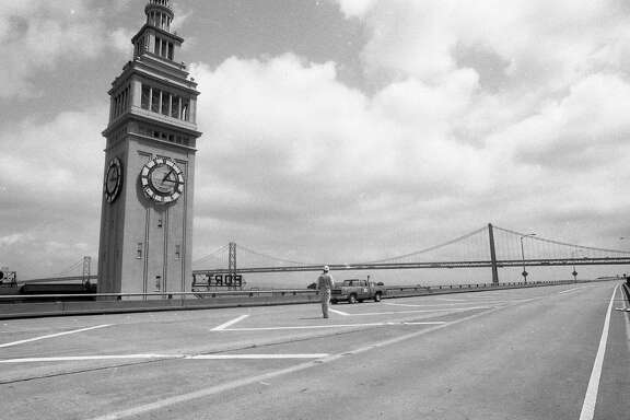 The Embarcadero Freeway April 17, 1990