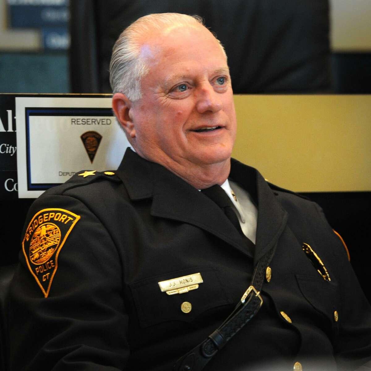 Bridgeport Police Department Deputy Chief James Honis, Sept. 4, 2014.