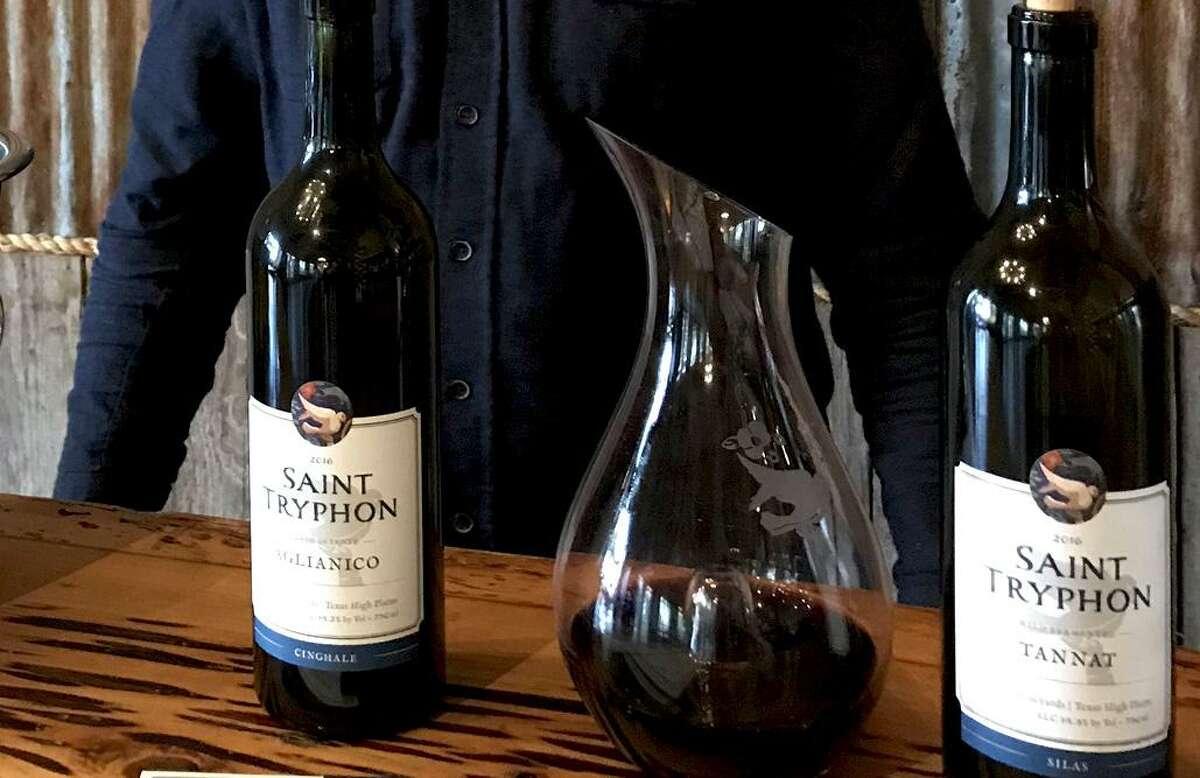 San Antonio's Best Hill Country Wineries: Saint Tryphon Farm & Vineyards 24 Wasp Creek Road, Boerne 830-777-6704 sainttryphon.com Specialties: Mourvèdre, trebbiano, pétillant naturel On ExpressNews.com: San Antonio's best restaurants, bars, bakeries, distilleries, breweries and Hill Country wineries