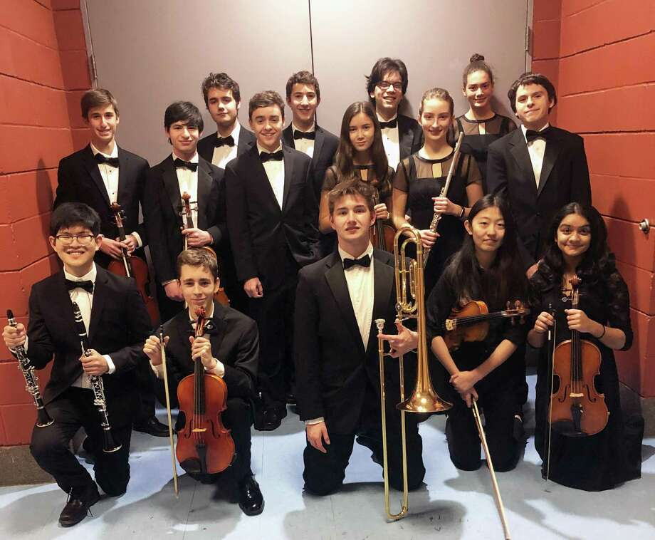 Staples High School students participated in the CMEA Western Regional Music Festival on Jan. 11-12. Photo: Contributed