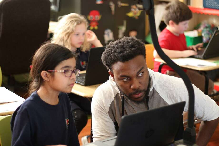 Since its inception in 2016, The Woodlands-based Coder Kids has taught more than almost 2,000 Texas children the fundamentals of the Scratch and Python programming languages through provate in-home and after school programs. Photo: Courtesy Of Coder Kids