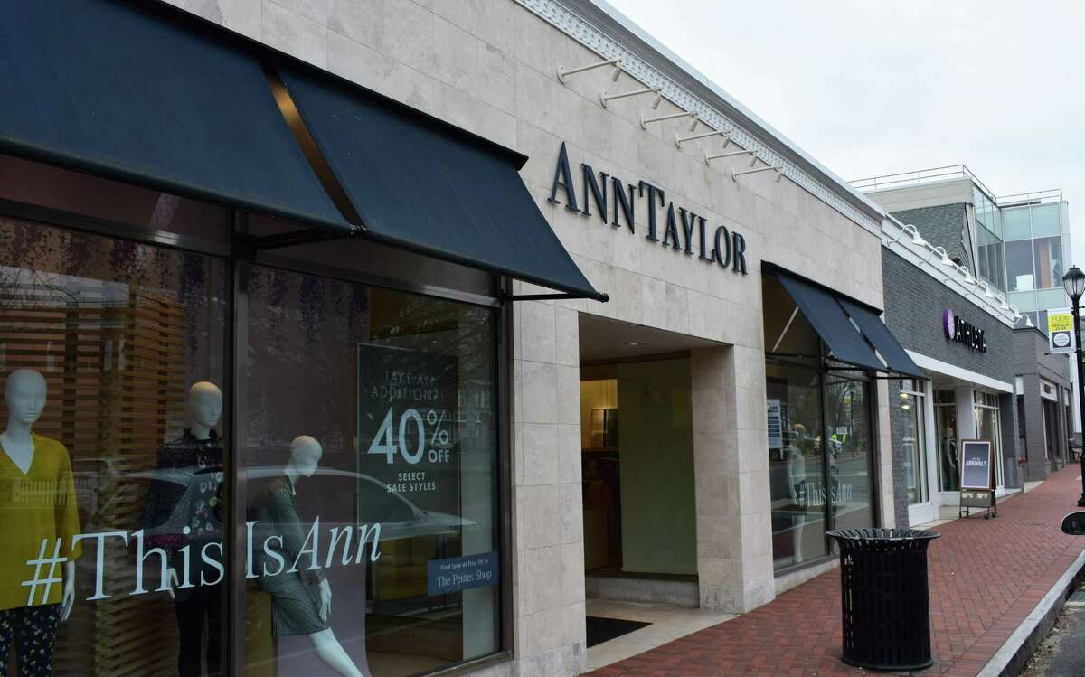 The former Ann Taylor storefront at 97 Main St. in Westport is slated to become the new Sundance.
