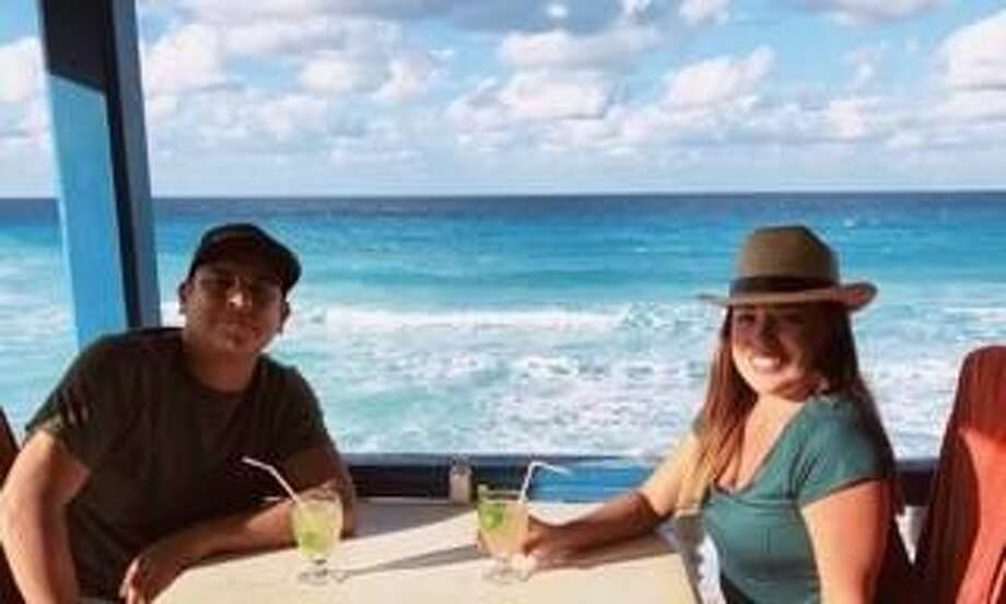 Married couple Rafael Leos-Trejo and Jessica Torres Leos while on vacation.Prosecutors say he fatally shot her with intentwhilehis defense attorney says it was accidental. Photo: Courtesy OfRafael Leos-Trejos' Defense Attorneys