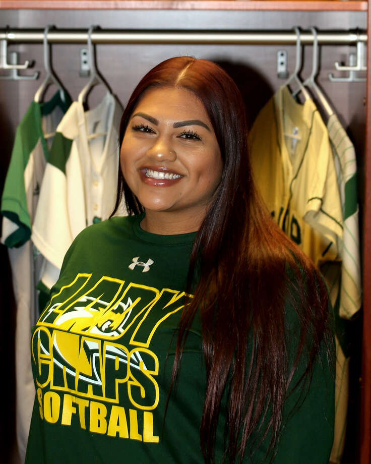 Midland College softball player Alexah Hernandez Photo: Forrest Allen| MC Athletics