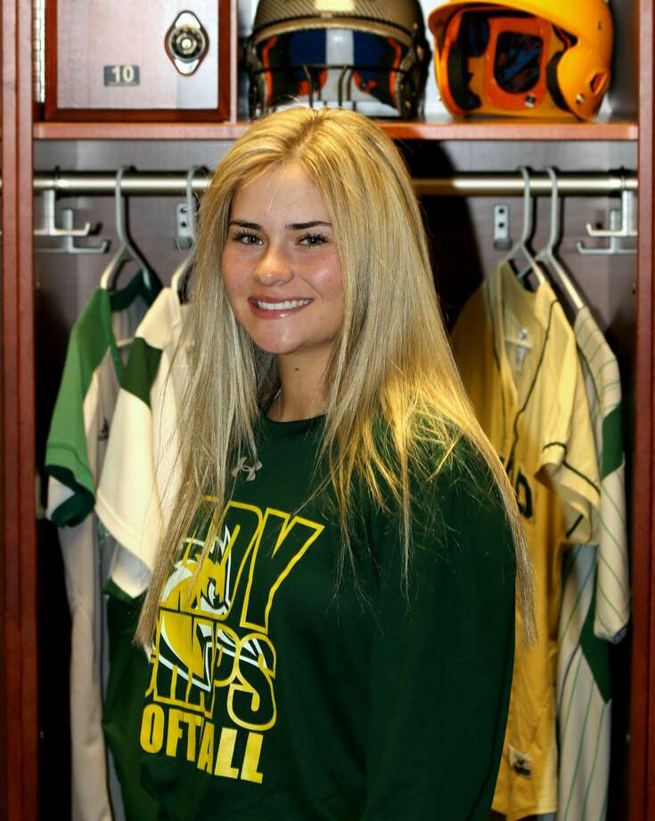 Midland College softball player Brandi Haller Photo: Forrest Allen,  MC Athletics