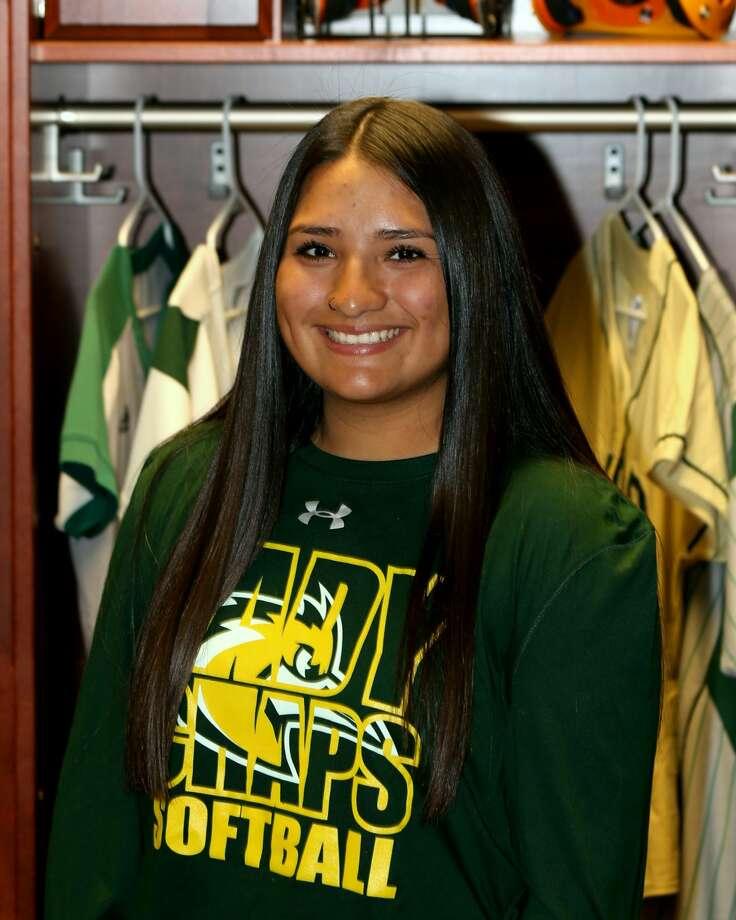 Midland College softball player Crystal Soliz Photo: Forrest Allen| MC Athletics