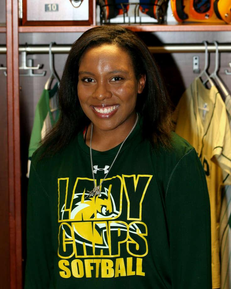 Midland College softball player Deandra Allen Photo: Forrest Allen,  MC Athletics