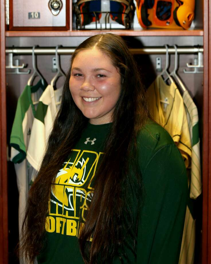 Midland College softball player Hannah Ice Photo: Forrest Allen| MC Athletics
