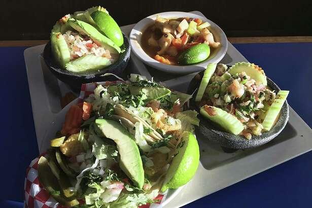 San Antonio's Best Restaurants: El Bucanero 16505 Blanco Road 210-408-9297 13802 Embassy Row 210-333-0909 8300 Marbach Road 210-645-7337 Facebook: @elbucaneroblanco Cuisine: Mexican seafood Specialties: Camarones aguachile, camarones or pescado al mojo de ajo, ceviches Price range: $$ On ExpressNews.com:Review: The future of Mexican food is here at El Bucanero $ under $15 / $$ $16-$30 / $$$ $31-$50 / $$$$ over $50 Prices are based on an average dinner, per person, not including alcohol.