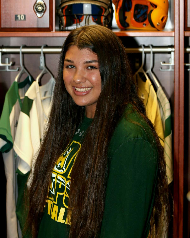 Midland College softball player Natalie Gonzalez