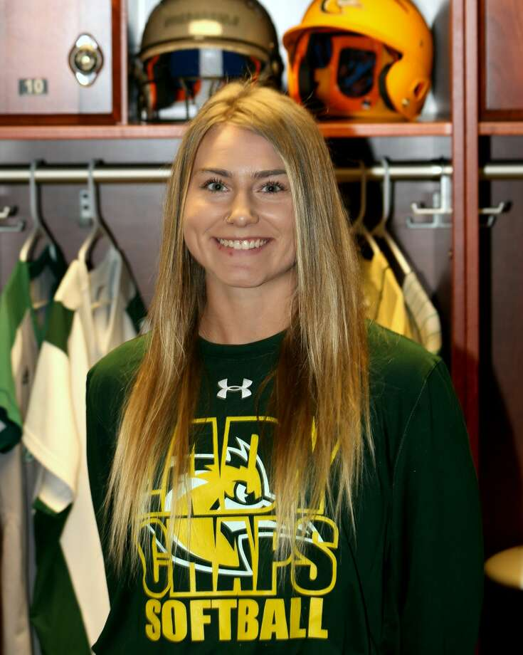 Midland College softball player Regan Hubbard Photo: Forrest Allen,  MC Athletics