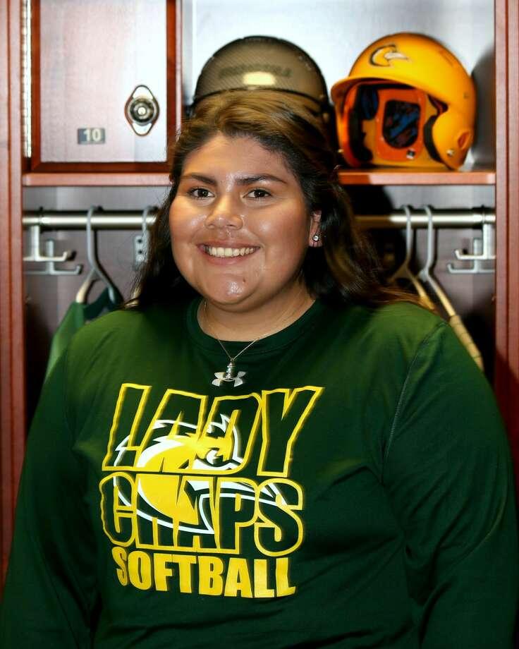 Midland College softball player Yvonne Hernandez Photo: Forrest Allen,  MC Athletics