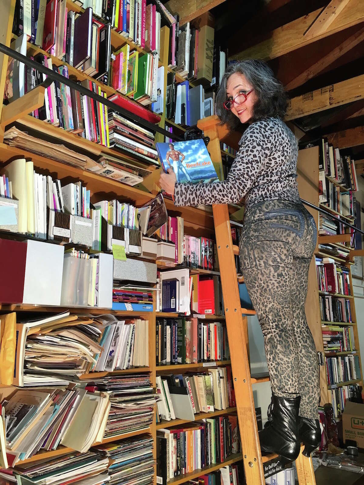 Dorian Katz, Gallery Director for Center for Sex and Culture, looks at books.