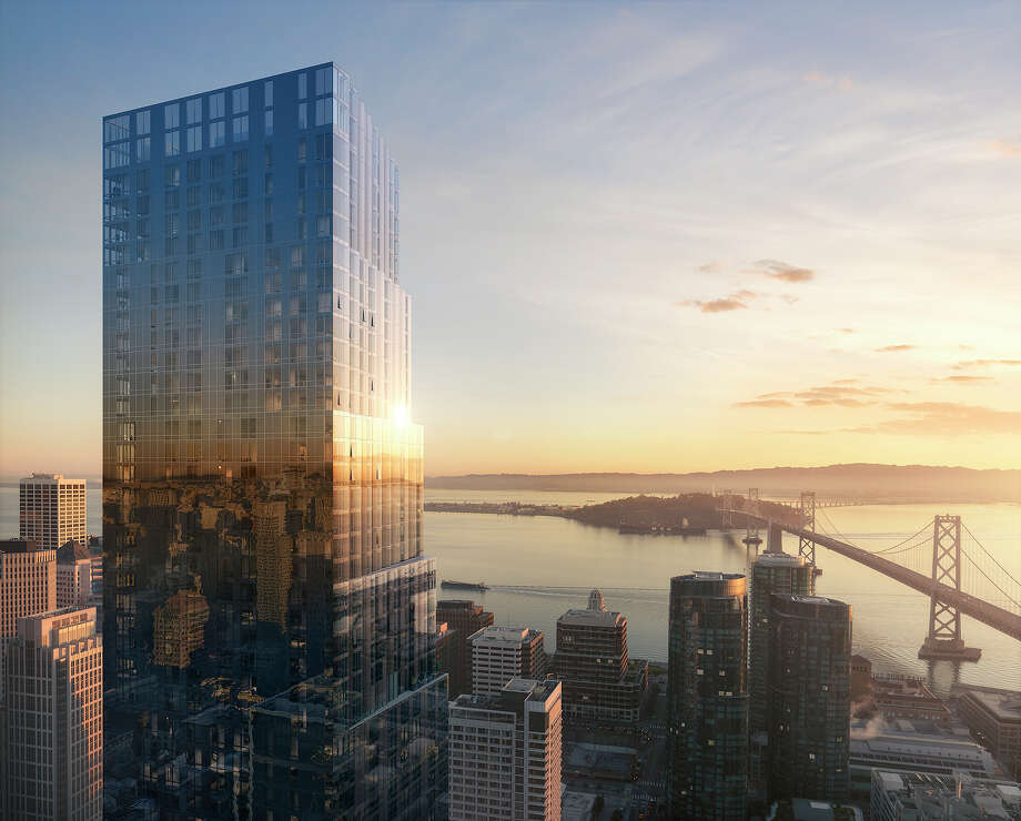 The mixed-used Avery building at 488 Folsom in San Francisco was designed by Pritzker Prize-winning Rem Koolhaas' OMA design firm. Photo: Courtesy Related California