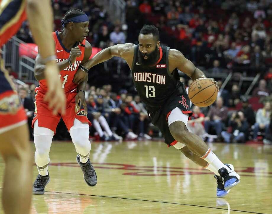 a76654de52c PHOTOS  Former Texas high school stars in the NBA Houston Rockets guard James  Harden (