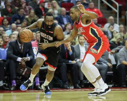 4a6d2b1bbc9 James Harden kept his streak of 30-point games going Tuesday