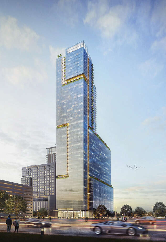 The proposed 48-story Innovation Tower in the Texas Medical Center. Photo: Gensler