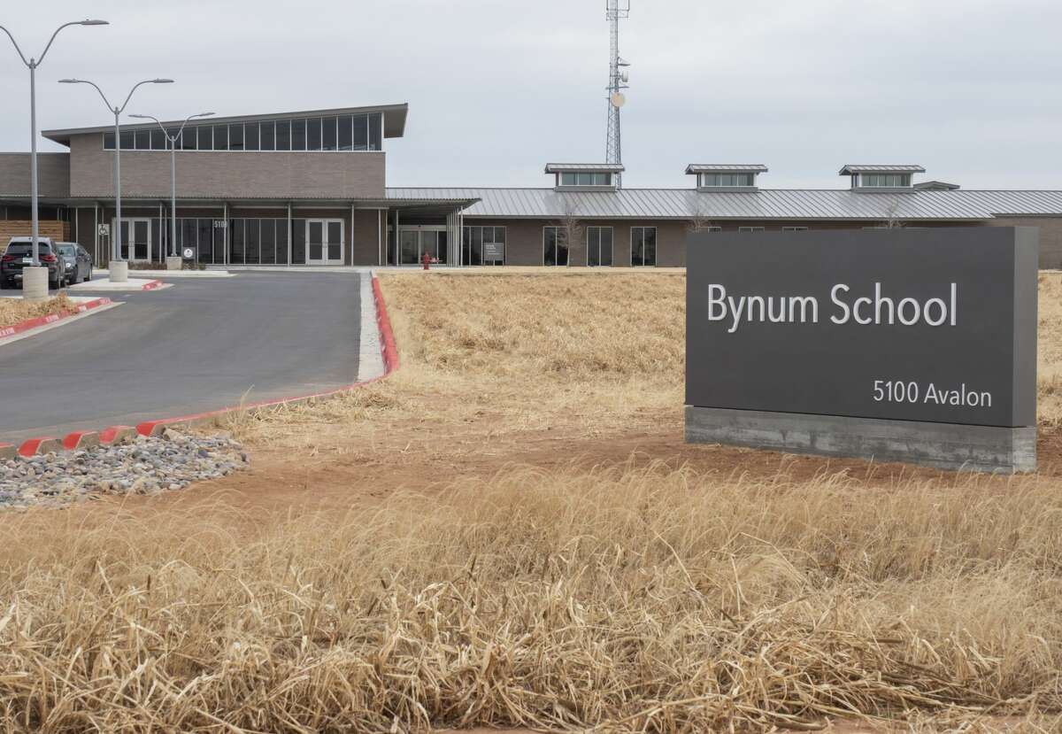 The new Bynum School on Avalon Drive has five classrooms with state-of-the-art technology. The school will be dedicated today.