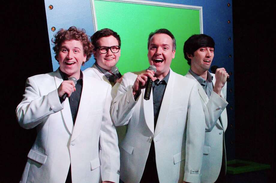 """McCade Fletcher, Taylor Fisher, Dr. Tommy Hysler and J.T. Fischer will perform songs of the 1950s in """"Forever Plaid"""" at Art Park Players in Deer Park. Photo: Kirk Sides / Staff Photographer / © 2018 Kirk Sides / Houston Chronicle"""