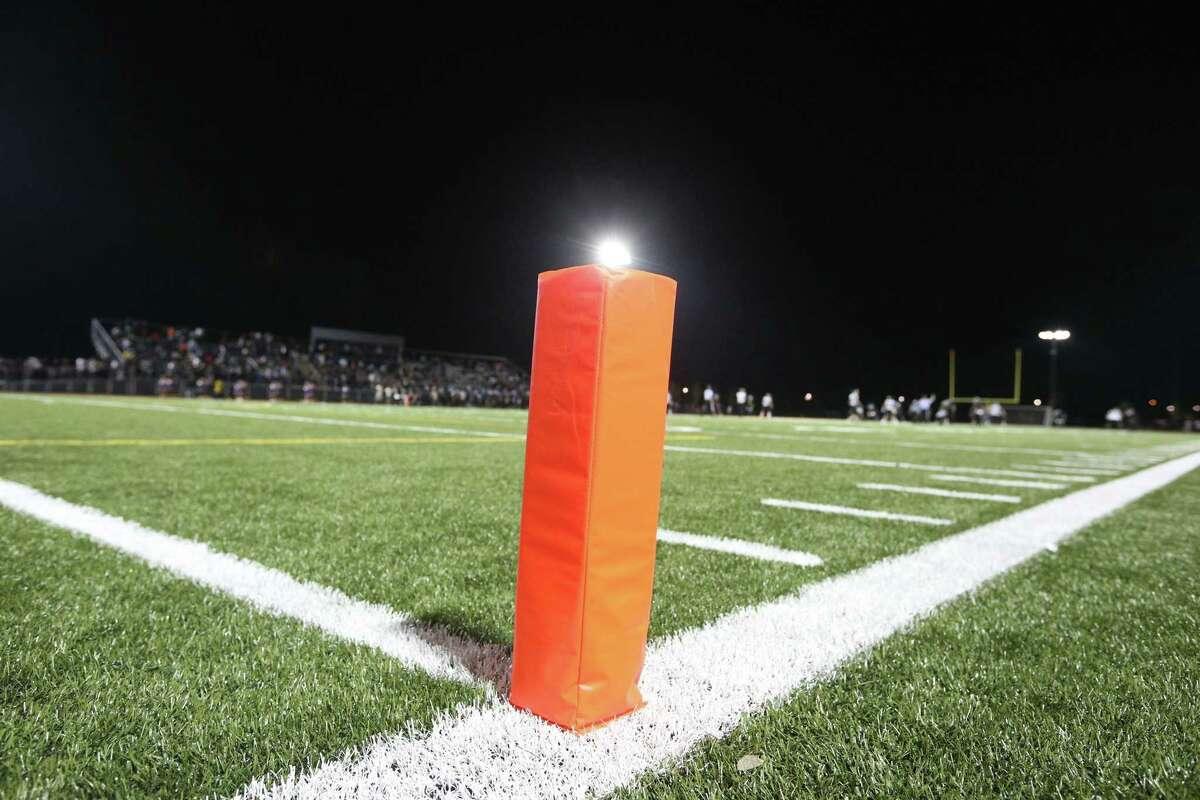Opening night of the high school football season on the brand new John L. Lewis Memorial Football Field at Harding High School in Bridgeport on Friday, Sept. 7, 2018.